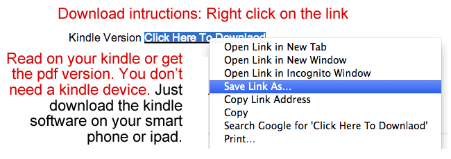 PDF Download Instructions
